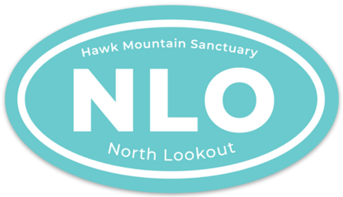 NLO Oval Decal