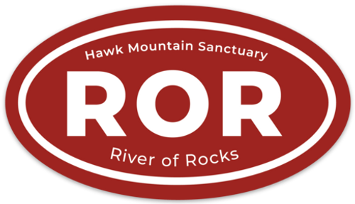 ROR Oval Decal