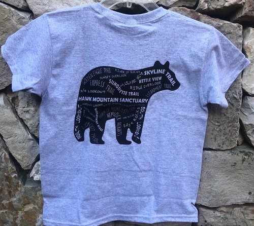 Black Bear Youth Tee