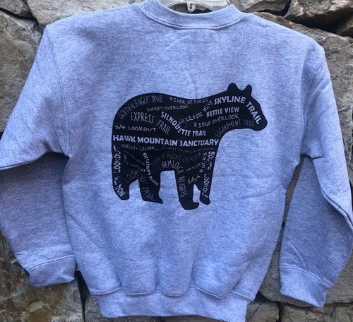 Black Bear Youth Crewneck Sweatshirt