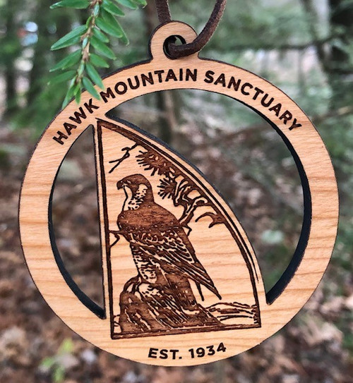Hawk Mountain Wood Ornament