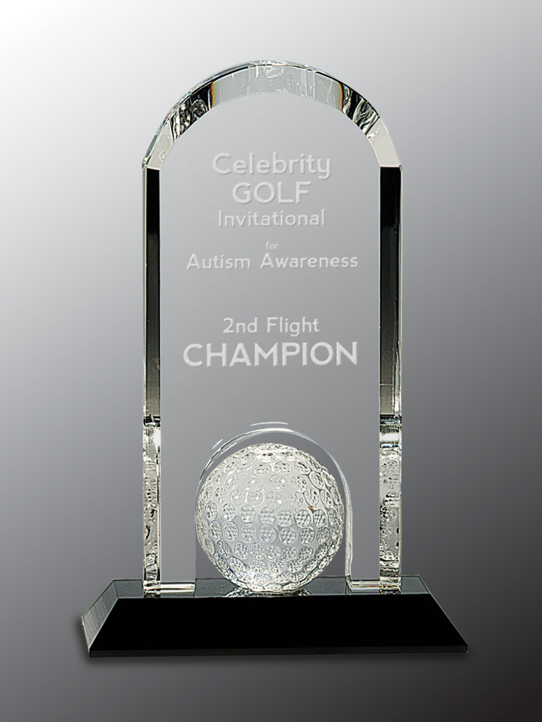 Crystal Arch Golf Ball