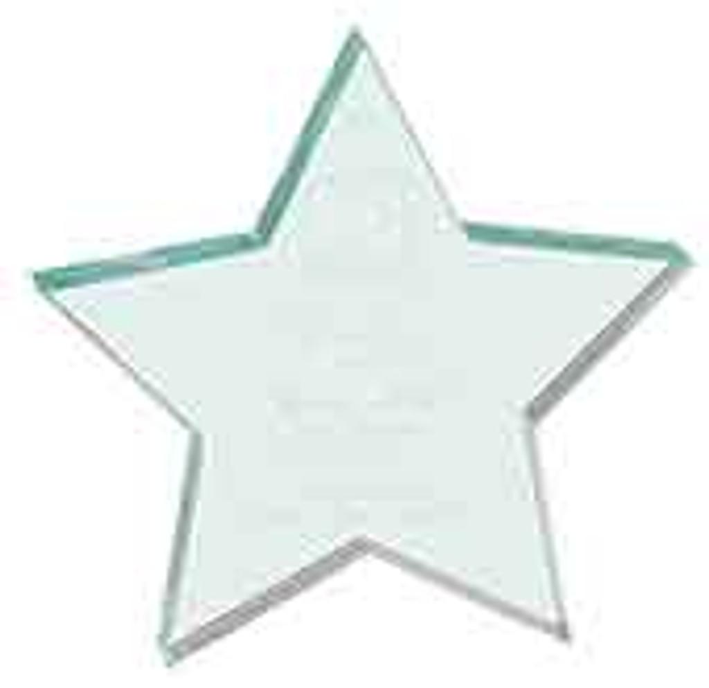 Jade Acrylic Star Paperweight