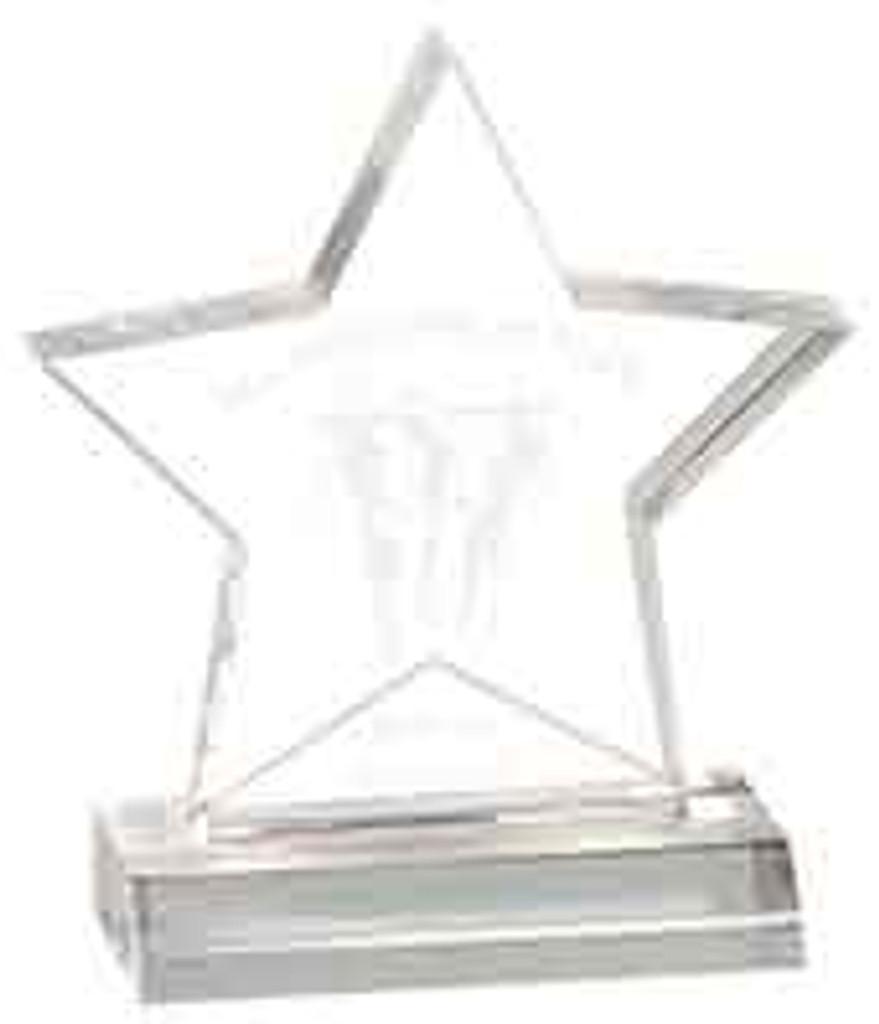 Acrylic Star Award on Base