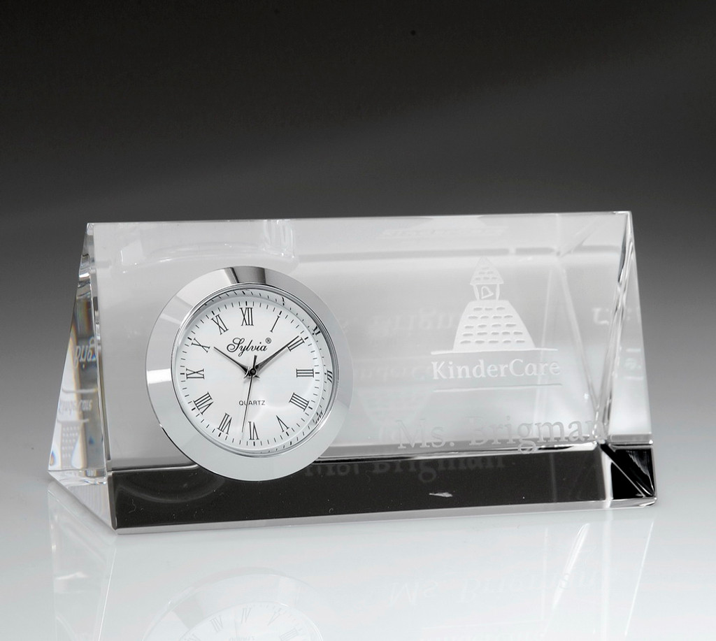 Majestic Horizontal Clock