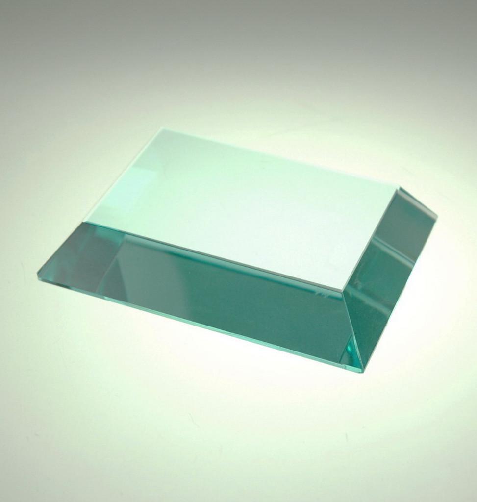 Mitered Edge Jade Paperweight