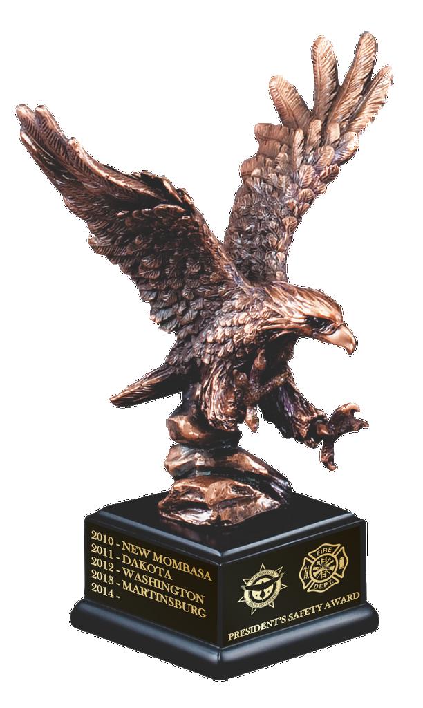 Bronze Eagle Landing
