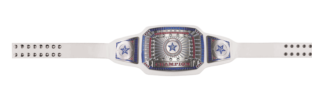 White Champion Award Belt
