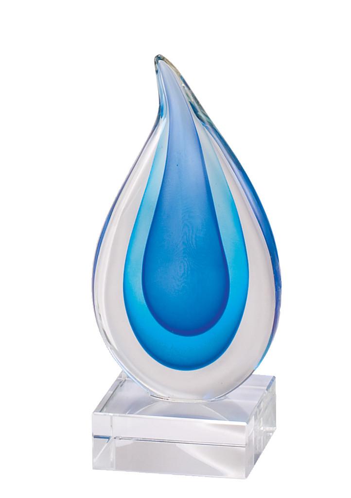 Radiant Blue Drops