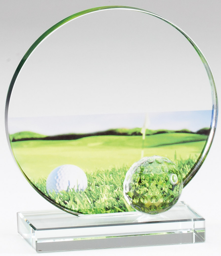Glass Golf Scene Award