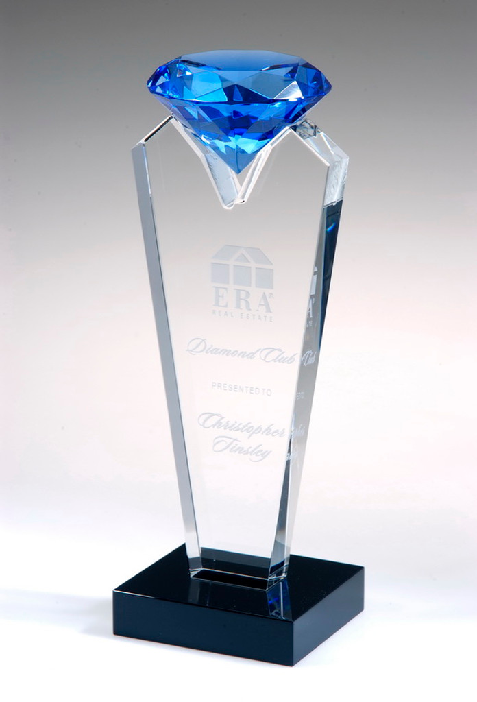 Blue Rising Diamond