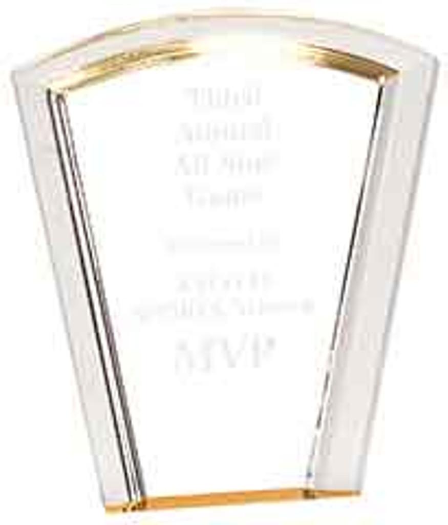 Fan Acrylic Halo Award