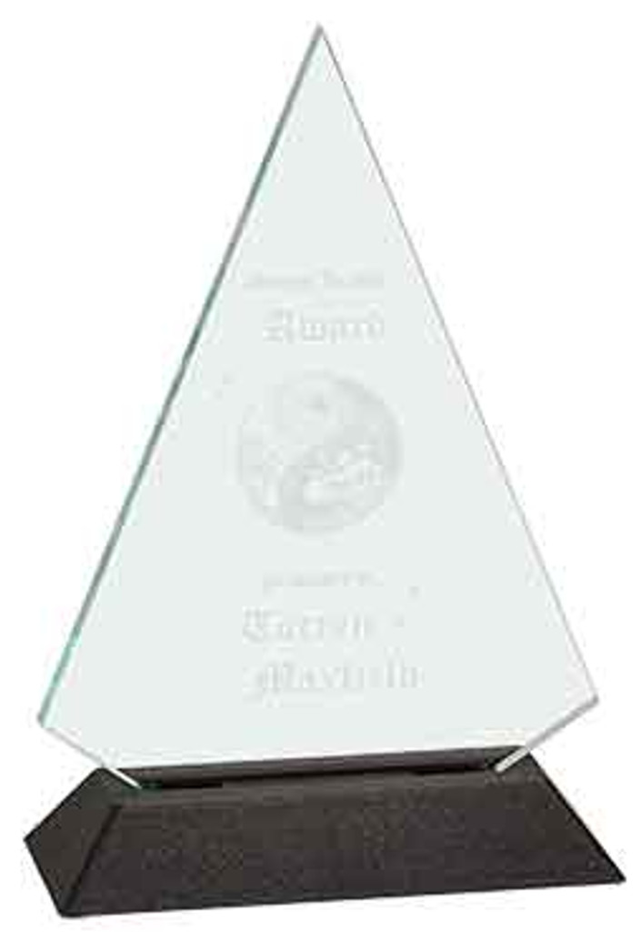 Jade Triangle Acrylic Award