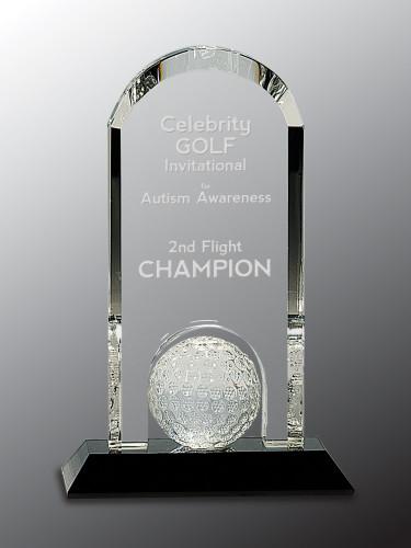 Crystal Arch Golf Ball
