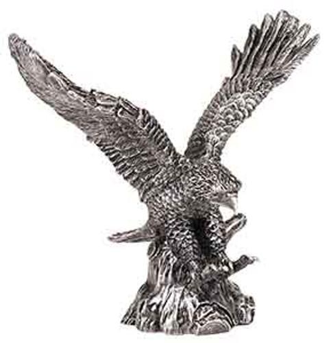 Metallic Silver Eagle Resin