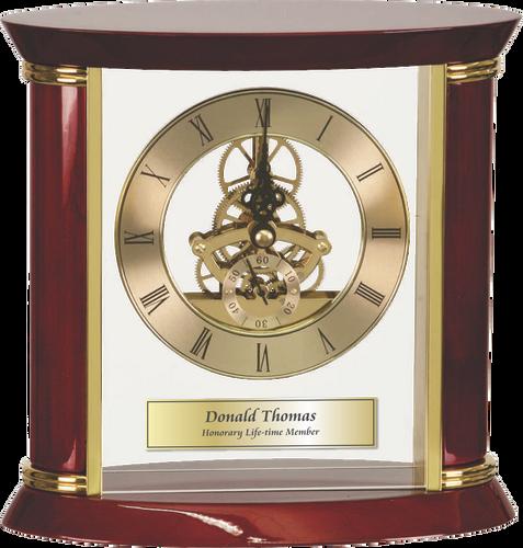 Executive Rosewood Clock
