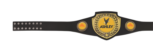 Black Victory Award Belt