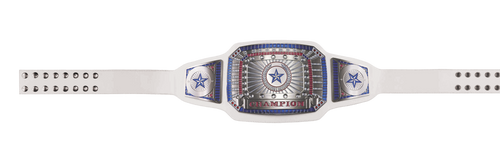 White Champion Award Belt
