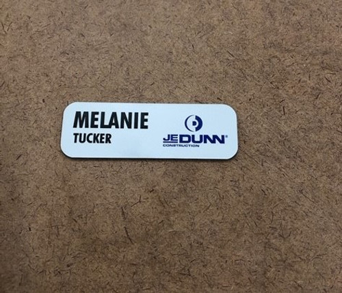"3""X1"" Plastic Name Badge"