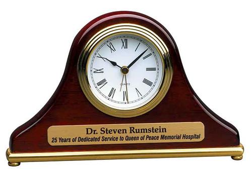 Piano Finish Mantel Clock