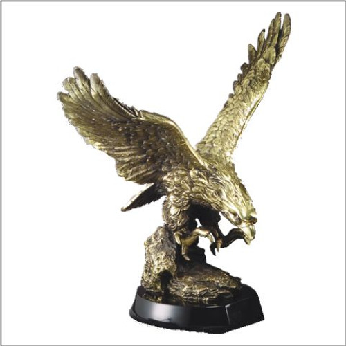 Swooping Gold Eagle