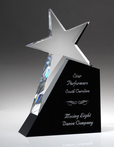 Shooting Star Crystal Award