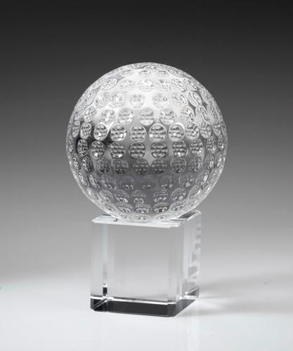 Golf Ball on Cube