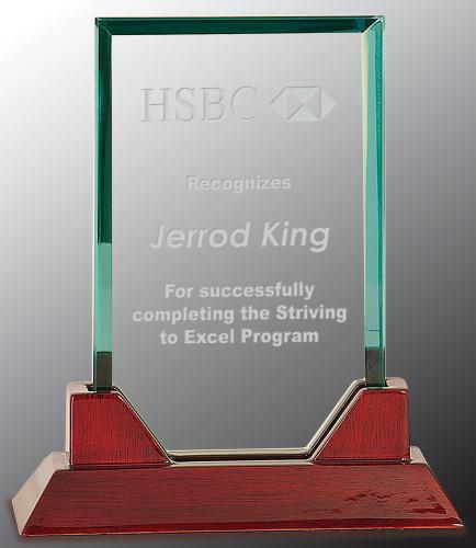 Prestige Jade Rectangle Award