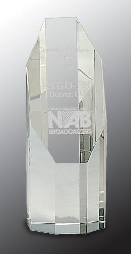 Crystal Octagon Tower Award