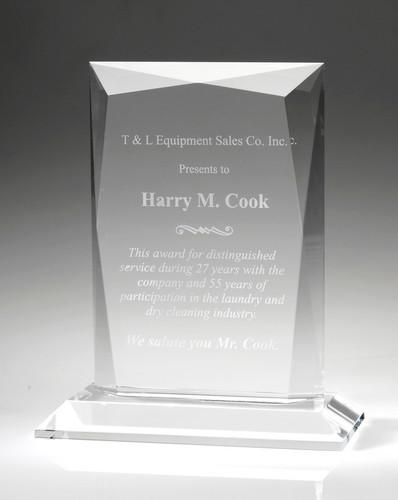 Prestige Crystal Award