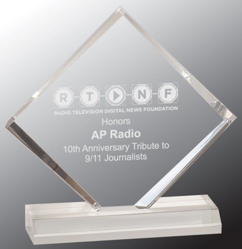 Diamond Jewel Acrylic Award