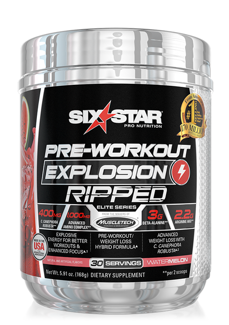 Pre-Workout Explosion Ripped