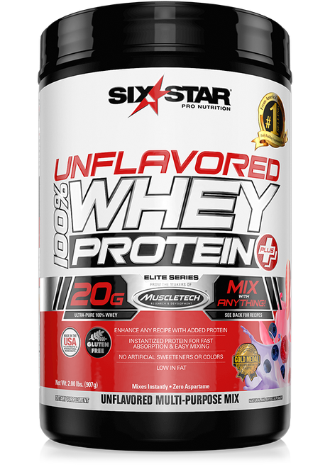 Unflavored 100% Whey Protein Plus