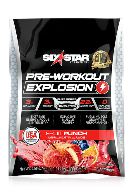 Pre-Workout Explosion - Sample Size