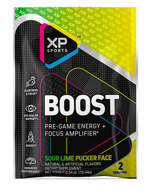 Boost Sample - Sour Lime Pucker Face