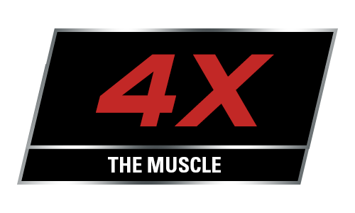 4x the muscle