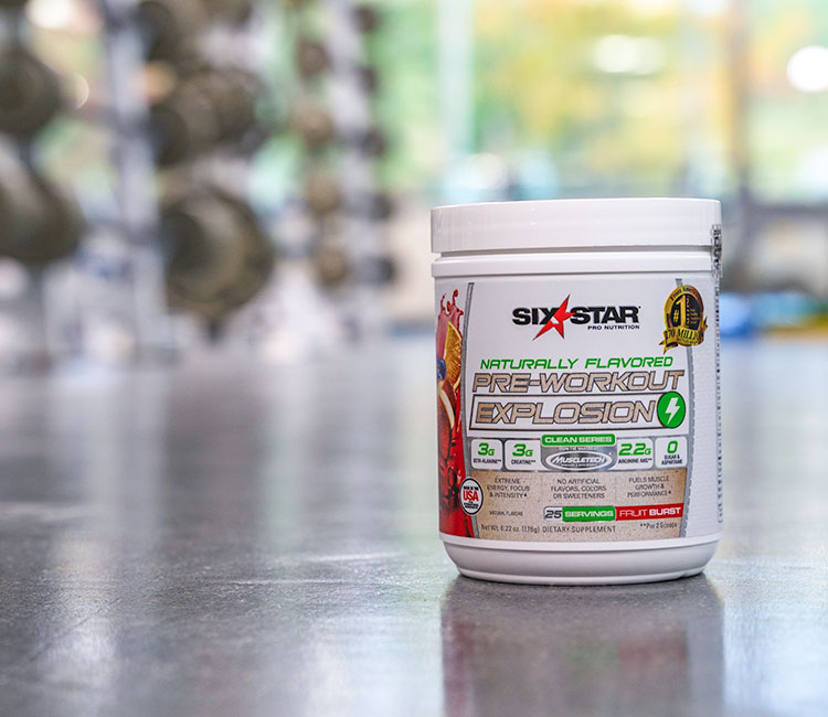 Naturally Flavored Pre-Workout Explosion