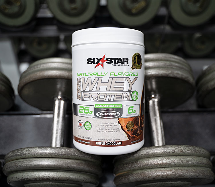 Naturally Flavored 100% Whey Protein Plus