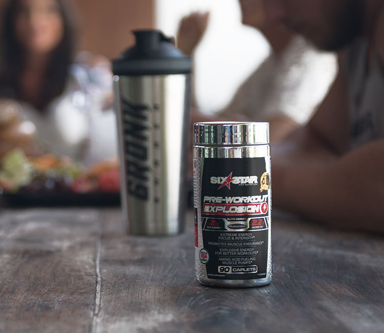 Pre-Workout Explosion pill