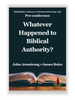 Whatever Happened to Biblical Authority? PCRT 1996 Pre-Conference (mp3 Disc)
