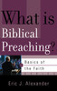 What is Biblical Preaching? (Booklet)