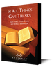 In All Things Give Thanks (mp3 download Set)