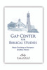 Major Teachings of Scripture (mp3 Set Download & Study Guide)
