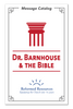 Dr. Barnhouse & the Bible: Message Catalog (Booklet)