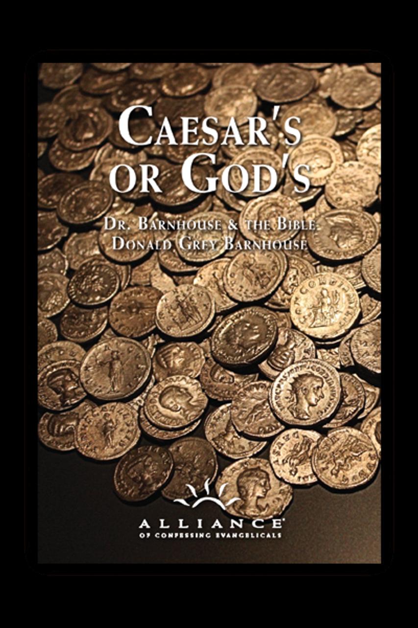 Caesar's or God's (MP3 Disc Set)
