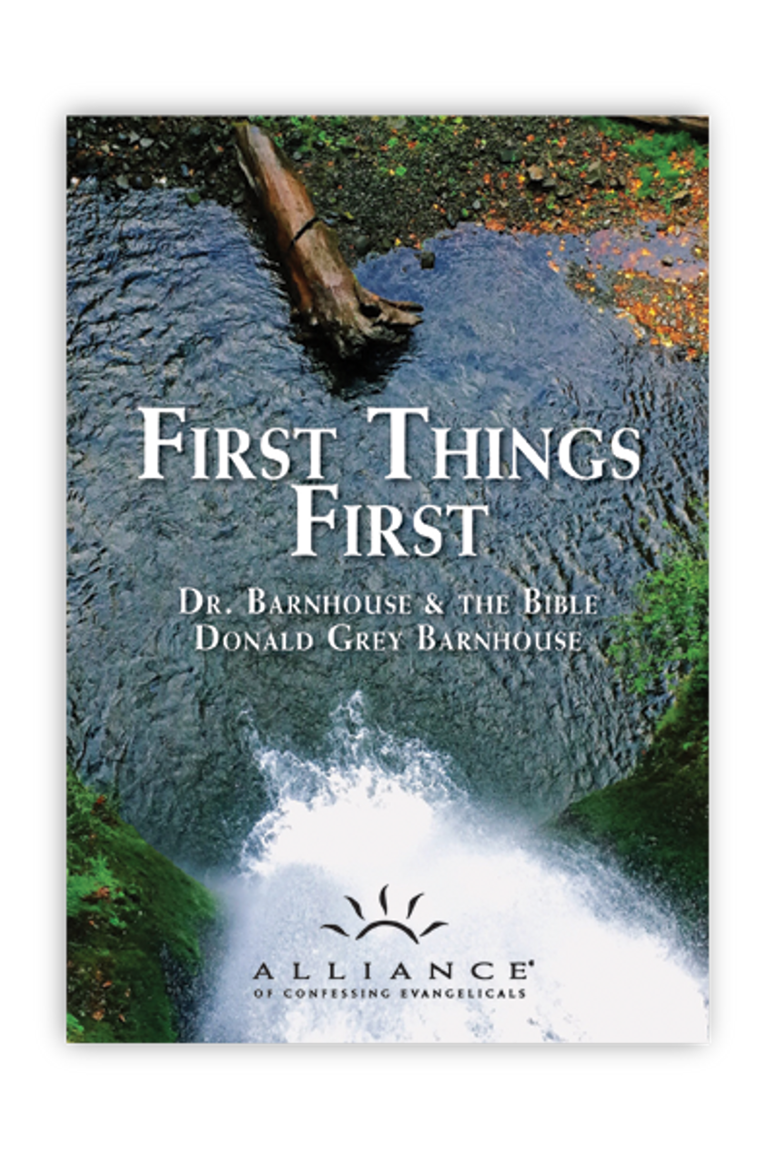 First Things First (mp3 Disc)