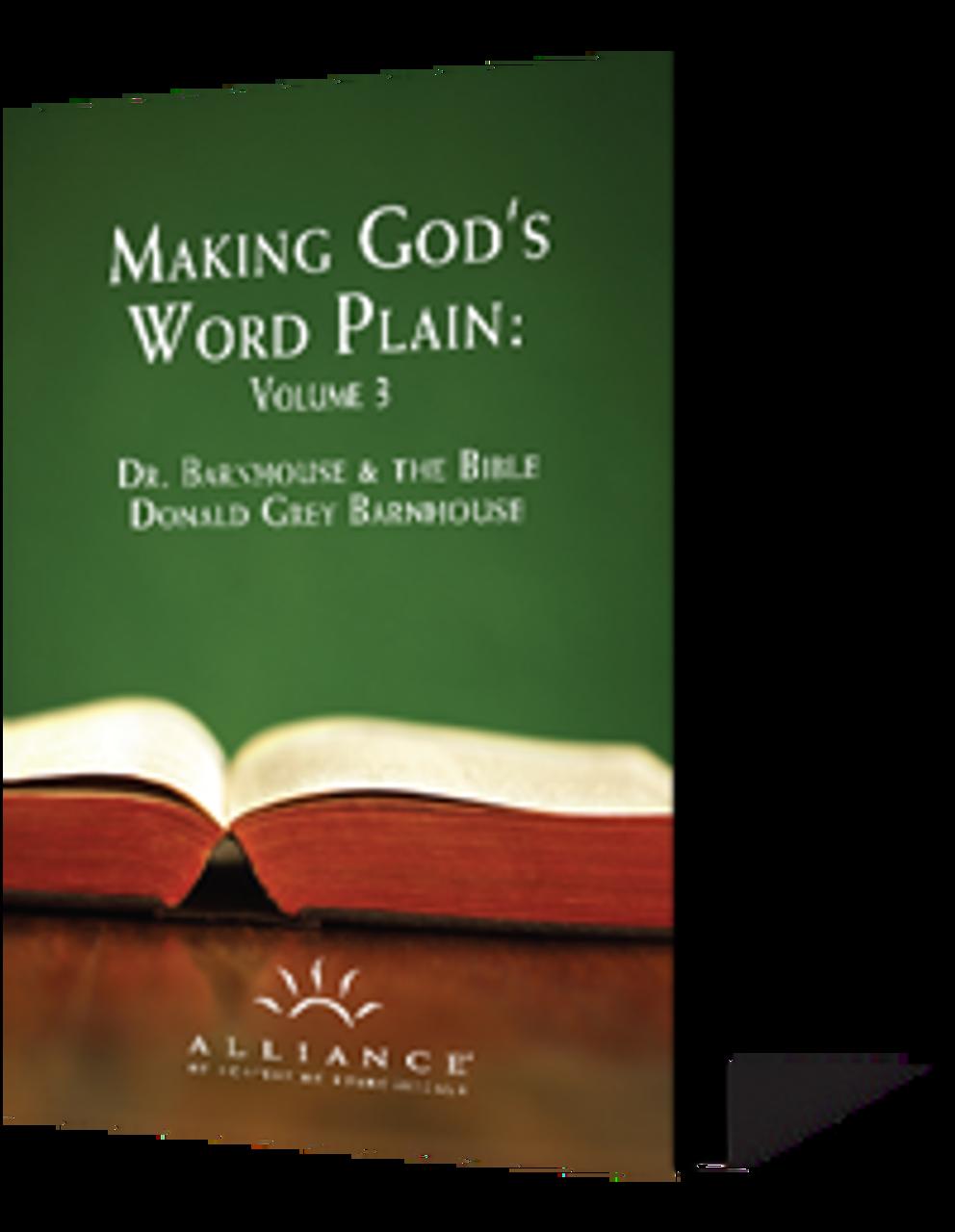 Making God's Word Plain, Volume 3 (CD Set)
