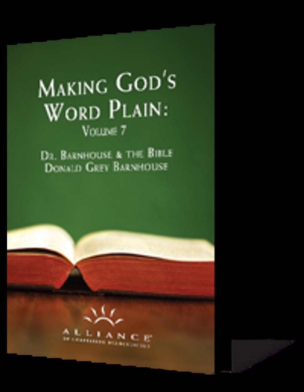 Making God's Word Plain, Volume 7 (CD Set)