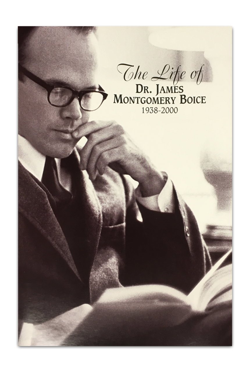 The Life of Dr. James Montgomery Boice (mp3 Disc with booklet)