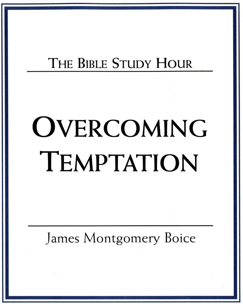 Overcoming Temptation (mp3 Disc)